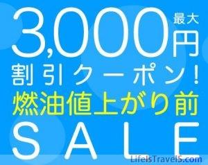 クリックして3000円割引クーポンをゲット!